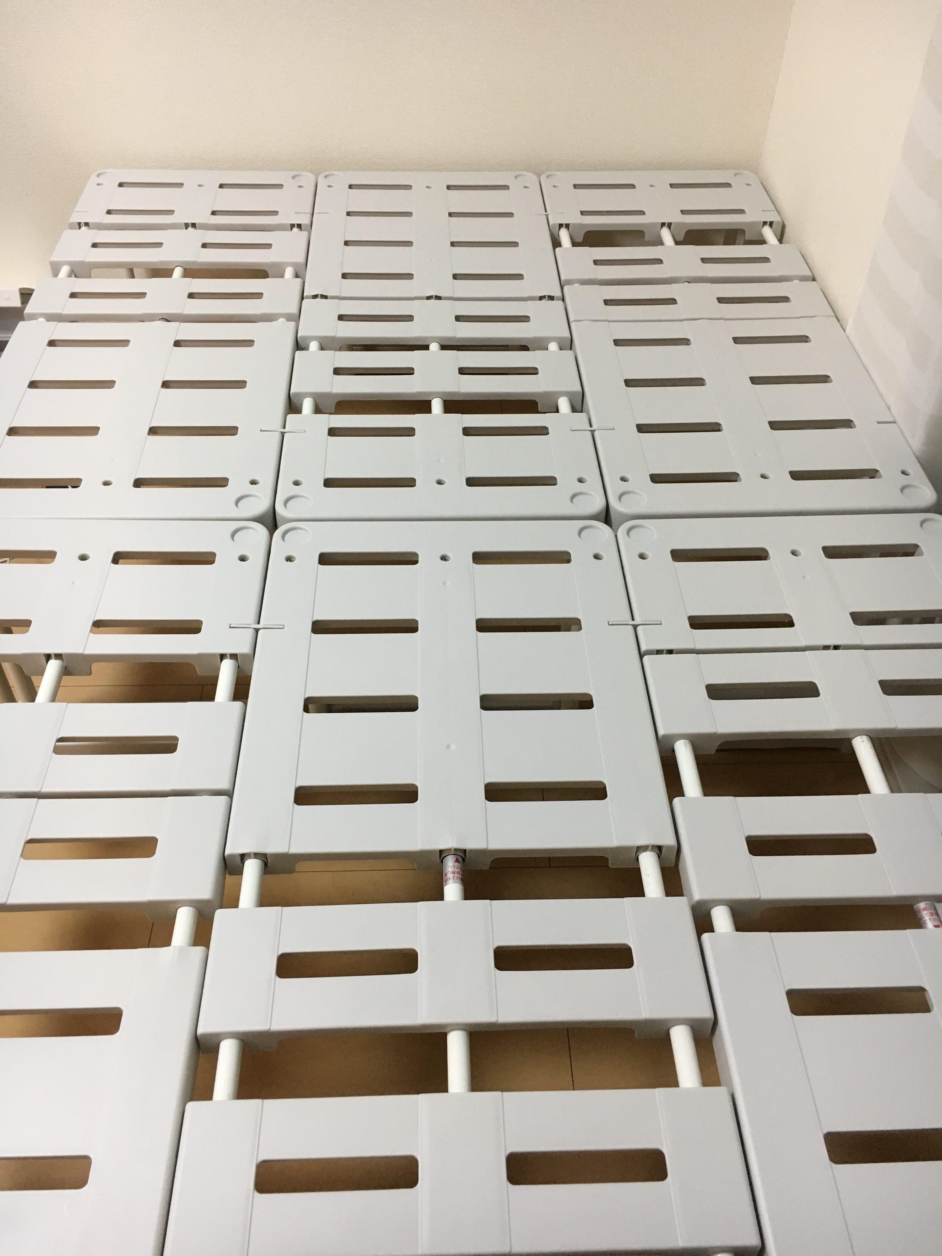 ベッドの代用品は格安で組立簡単な「押入れ収納棚」が絶対オススメ!理由を作り方を説明